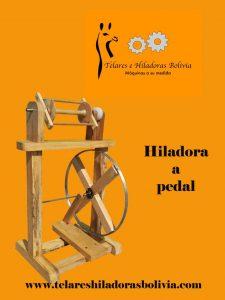 Hiladoras a pedal